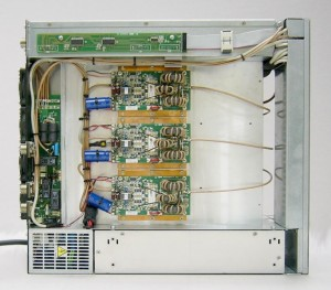 SPE Expert 2K-FA amplifier top view without screen cover
