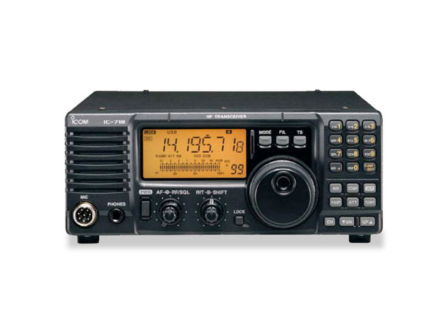 ICOM IC-718 base transceiver