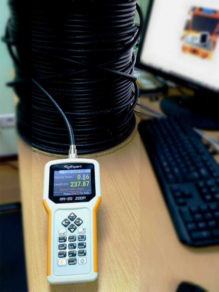 Rigexpert Aa 55 Zoom Antenna Amp Cable Analyzer Rf