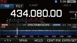 Real-Time Spectrum Scope and Waterfall Display