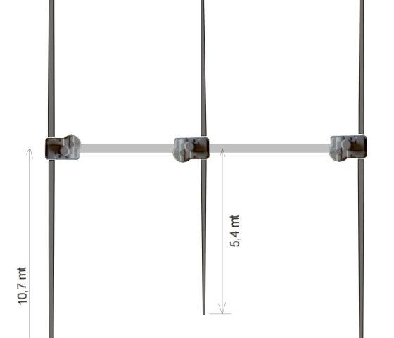Ultra Beam 3 Element Yagi 6-40 Antenna