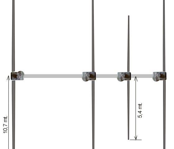 Ultra Beam 4 Element Yagi 6-40 Antenna